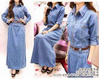 Styles de Robe en jean inspirants5