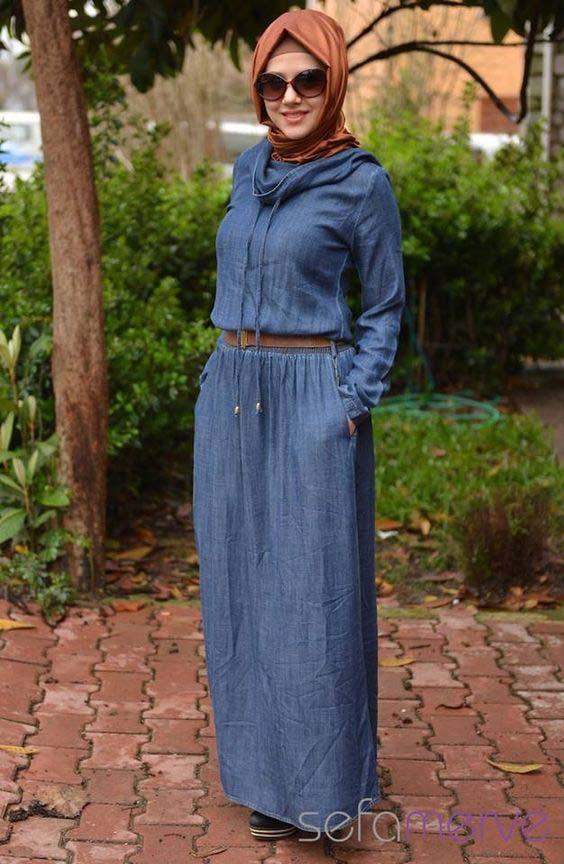 Styles de Robe en jean inspirants9