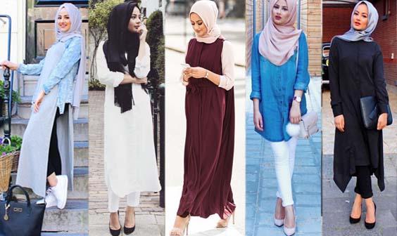 style hijab 2017 ete. Black Bedroom Furniture Sets. Home Design Ideas