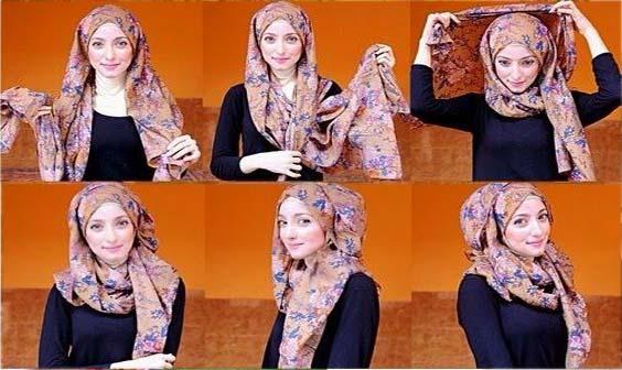 Tutoriels Hijab Modernes12