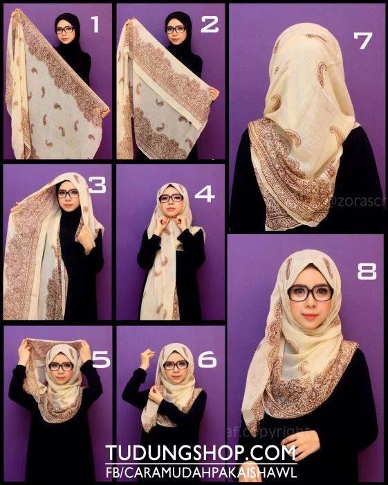 Tutoriels de Hijab Avec Lunettes 3
