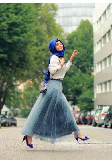 Tutus longs avec le Hijab11