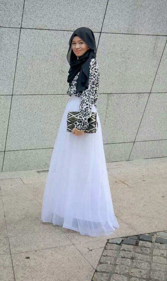 Tutus longs avec le Hijab5