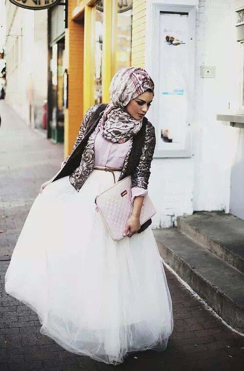 Tutus longs avec le Hijab8