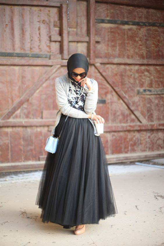 Tutus longs avec le Hijab9
