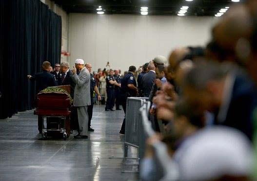 le funéraille de Mohamed Ali