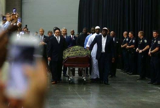 le funéraille de Mohamed Ali1
