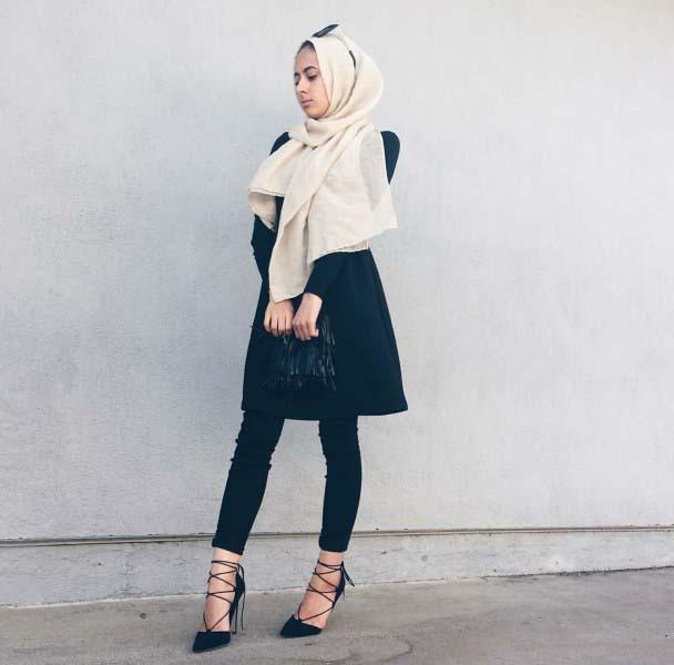 30 Façons de porter une Tunique longue avec des leggings15