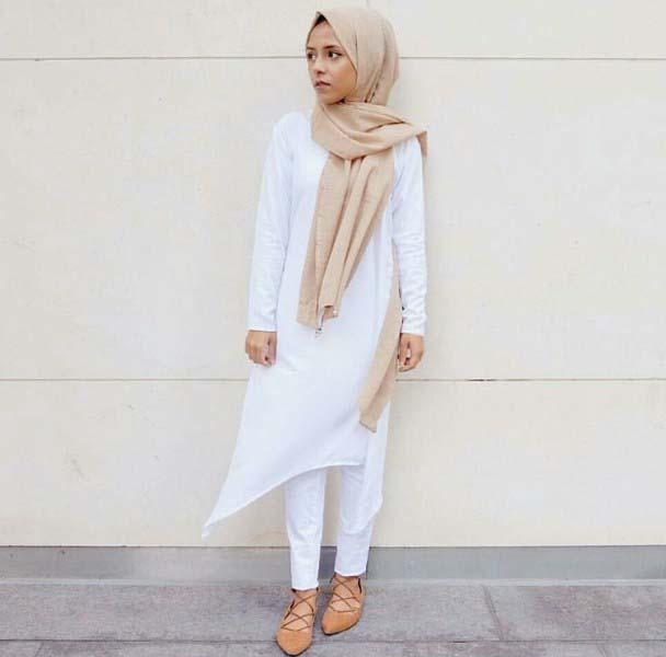 30 Façons de porter une Tunique longue avec des leggings16
