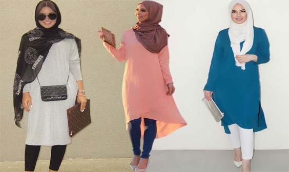 30 Façons de porter une Tunique longue avec des leggings19
