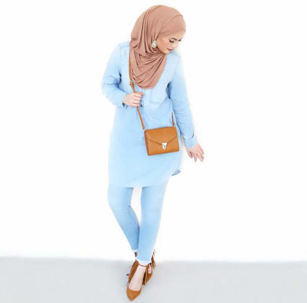 30 Façons de porter une Tunique longue avec des leggings3