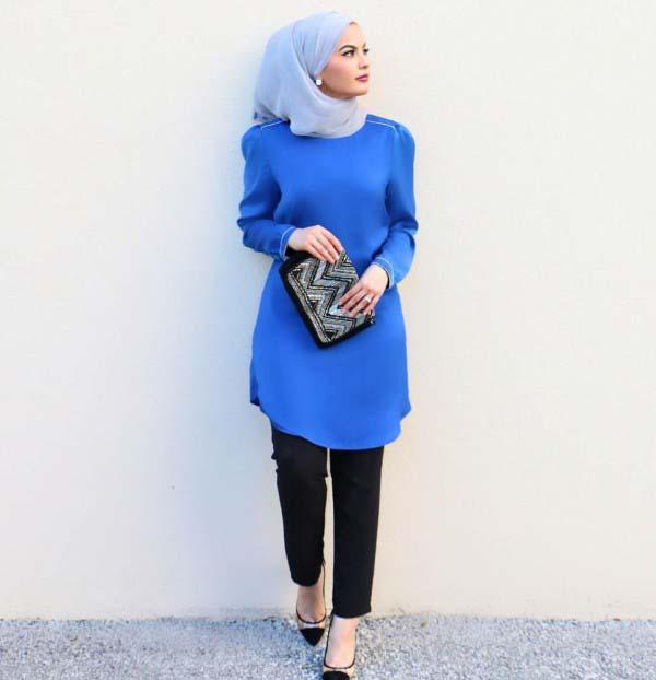 30 Façons de porter une Tunique longue avec des leggings8