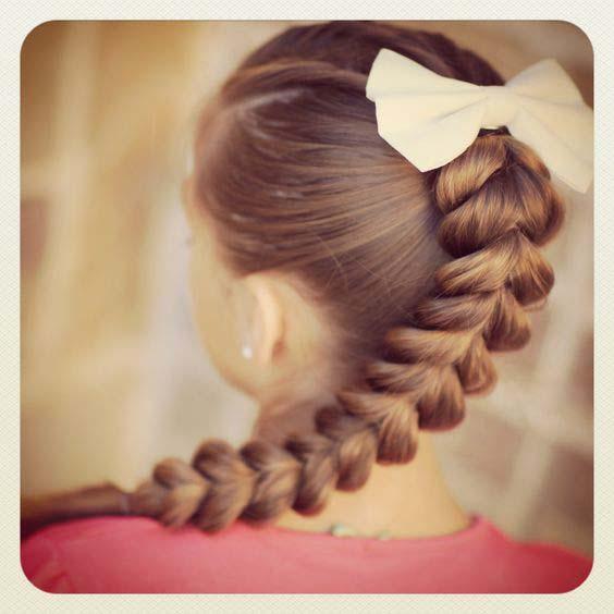 Coiffure Petites Filles Pour Eid Al Fitr 15