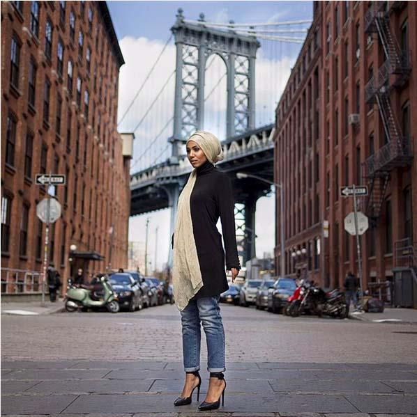 Hijab mode7