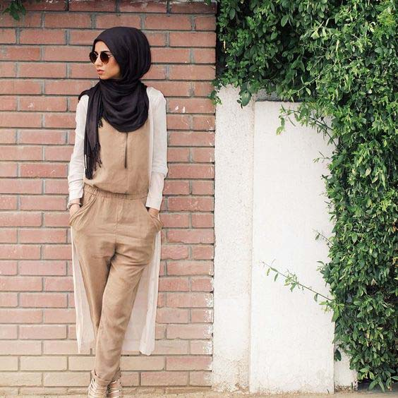La Combi-pantalon, Comment la porter Avec Le Hijab ?6