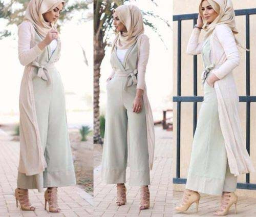 La Combi-pantalon, Comment la porter Avec Le Hijab ?7