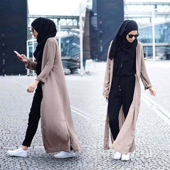 La Combi-pantalon, Comment la porter Avec Le Hijab ?8