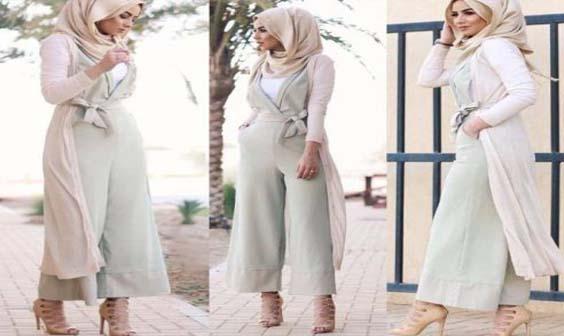 La Combi-pantalon, Comment la porter Avec Le Hijab ?9