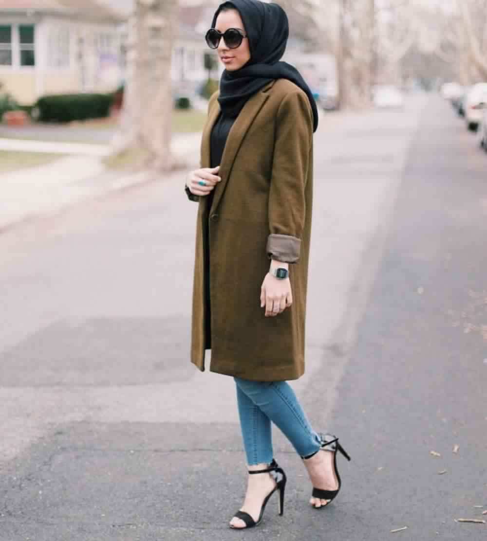 Looks Hijab avec un jean11