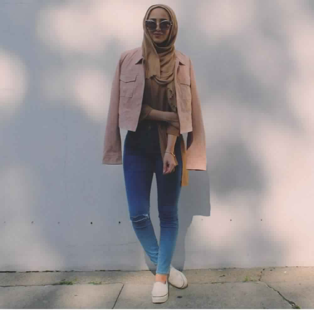 Looks Hijab avec un jean21