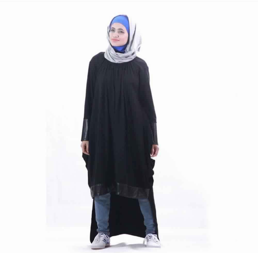Looks Hijab avec un jean6