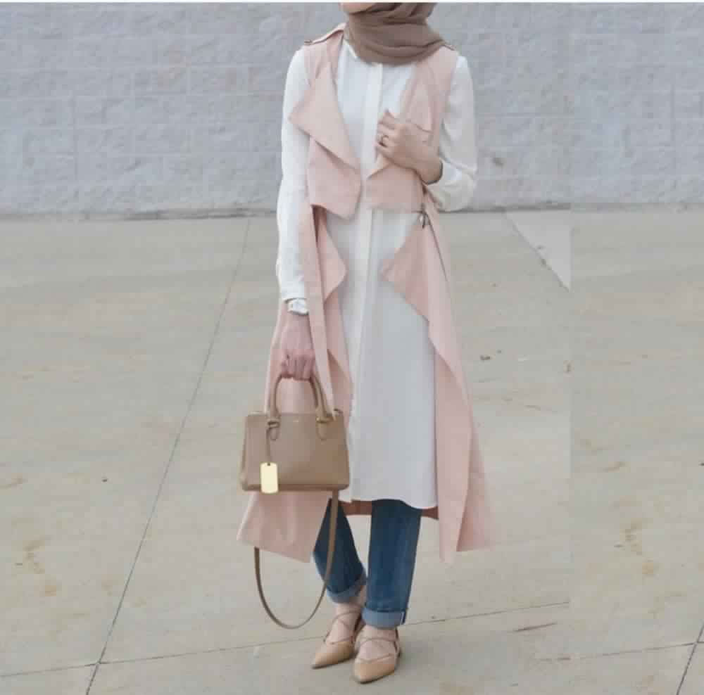 Looks Hijab avec un jean9