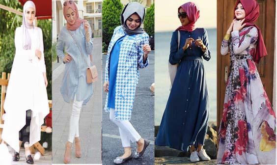Looks Hijab d'été