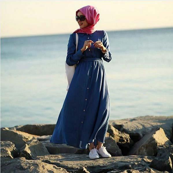 Looks Hijab d'été16