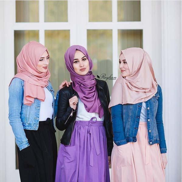 Looks Hijab d'été17
