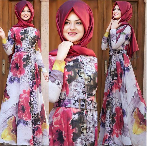Looks Hijab d'été19