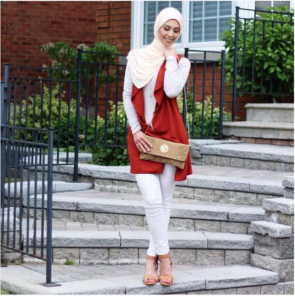 Looks Hijab d'été26