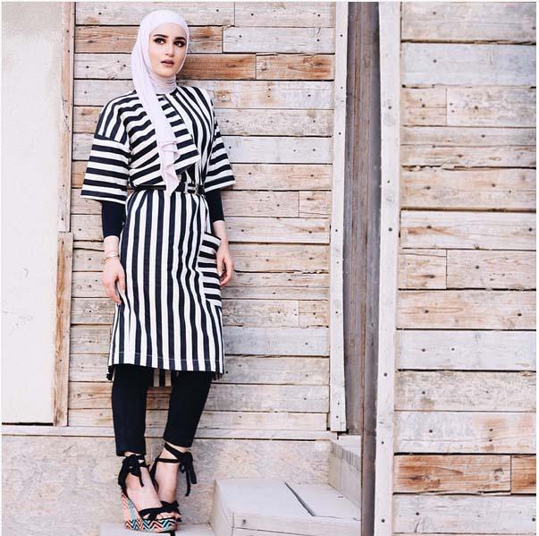 Looks Hijab d'été29
