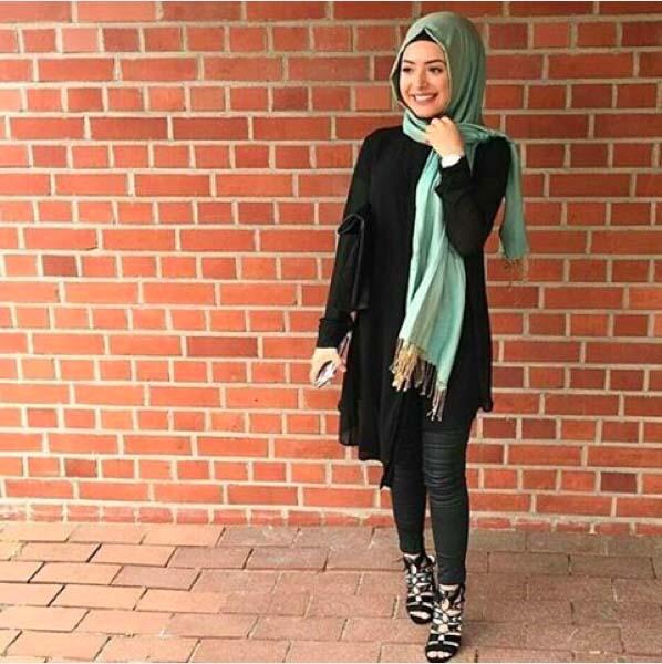 Looks Hijab d'été7