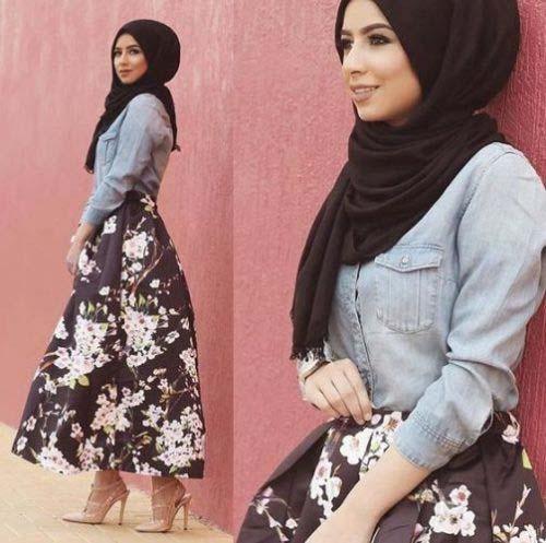 Looks Hijab fasion14