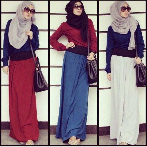 Looks Hijab fasion21