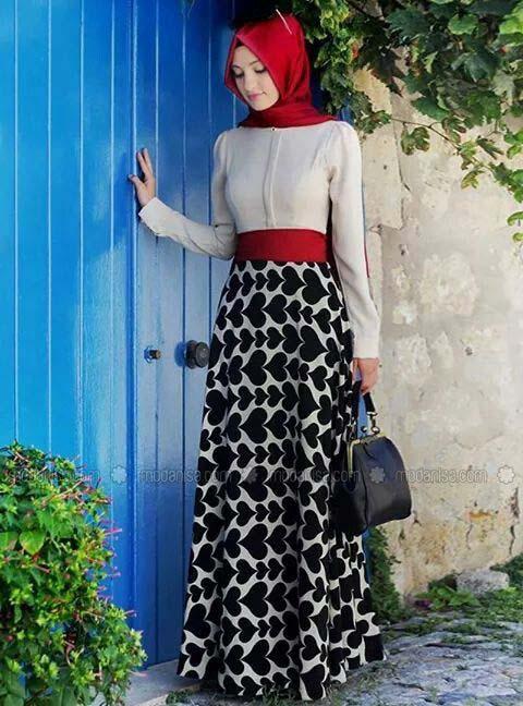 Looks Hijab fasion7