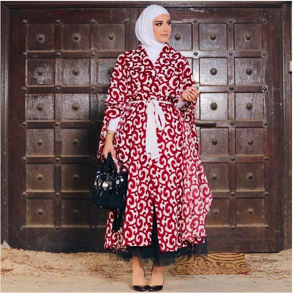 Morpho Robes Femme Voilée10
