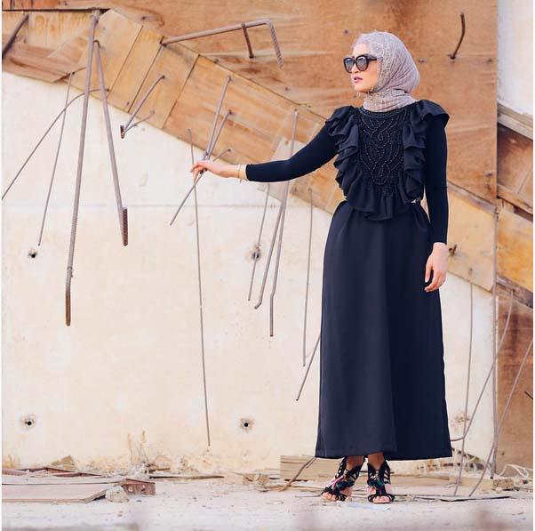 Morpho Robes Femme Voilée11