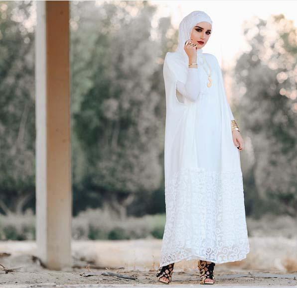 Morpho Robes Femme Voilée12