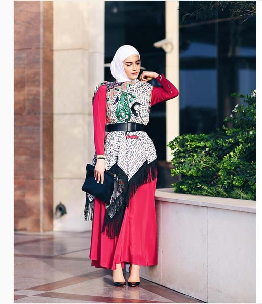 Morpho Robes Femme Voilée6