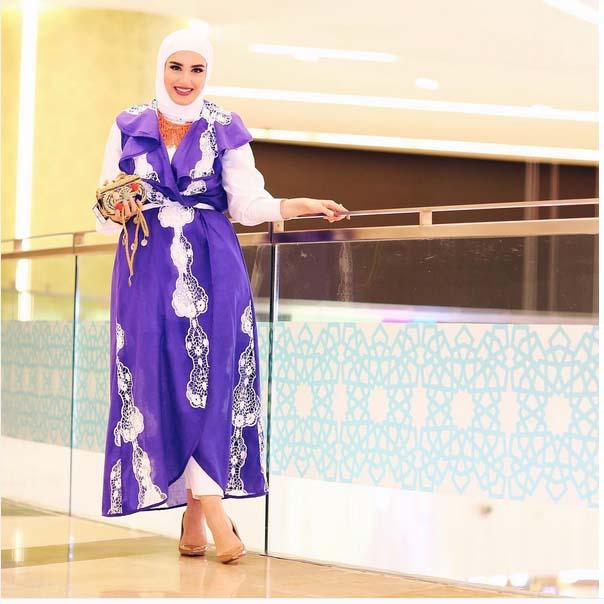 Morpho Robes Femme Voilée9