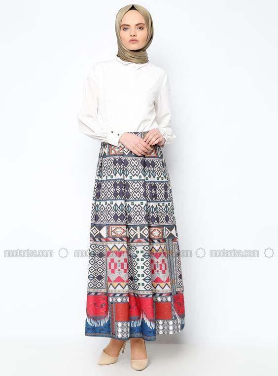 Porter la jupe longue10