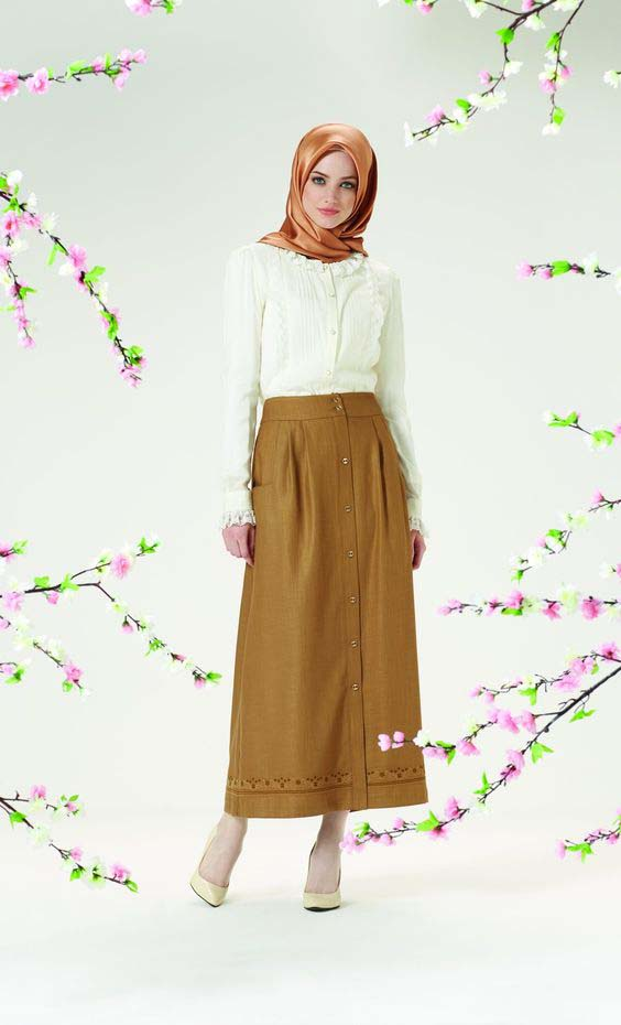 Porter la jupe longue4