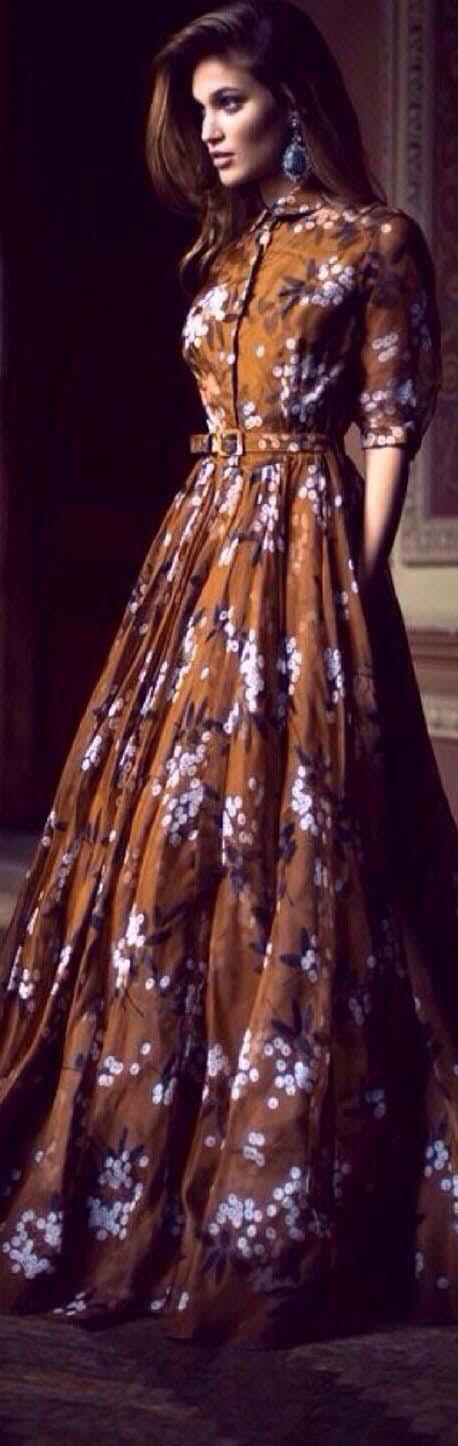 Robe Longue fleurie11