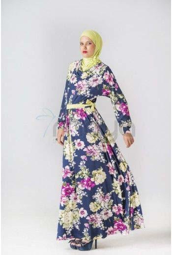 Robe Longue fleurie14