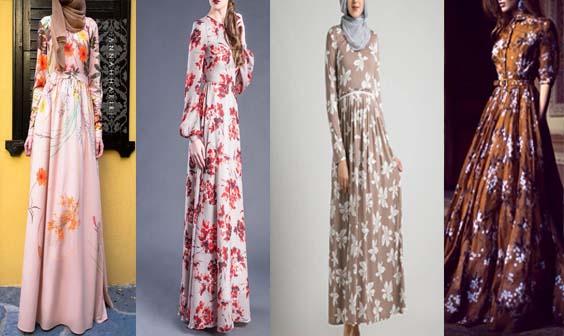 Robe Longue fleurie19