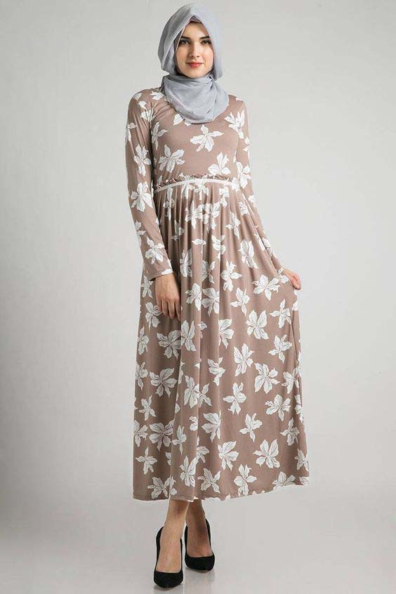 Robe Longue fleurie4