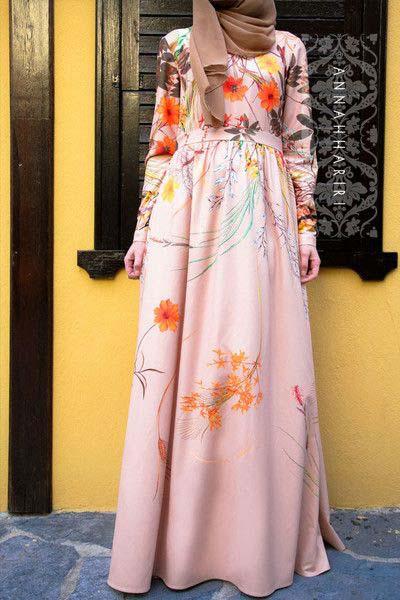 Robe Longue fleurie7