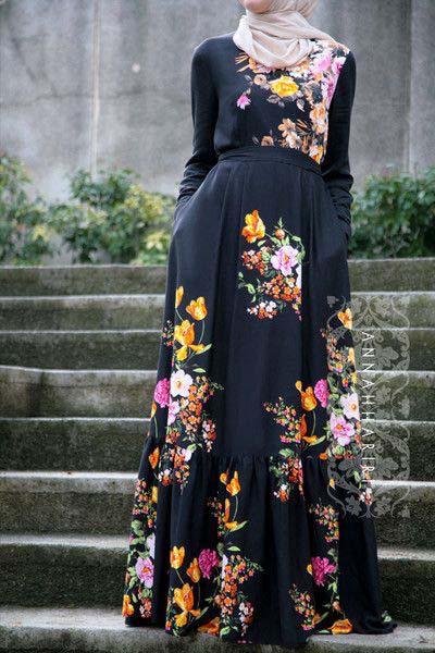 Robe Longue fleurie9