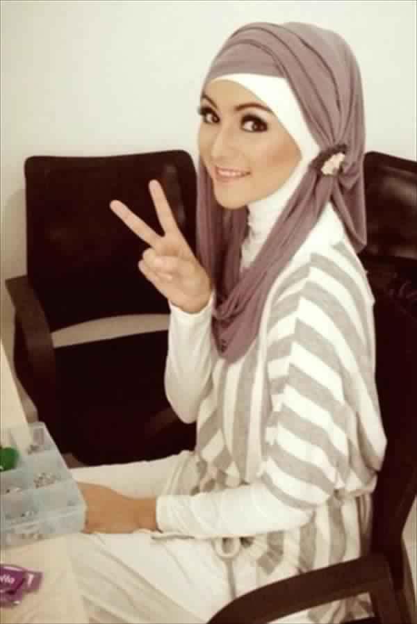 Tenue Hijab Moderne 2